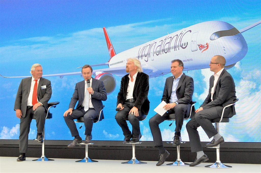 Virgin Atlantic and Airbus at Farnborough 2016 - crédit : C. Bruneau pour Aerospatium