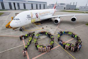 Un Airbus 380 d'Emirates