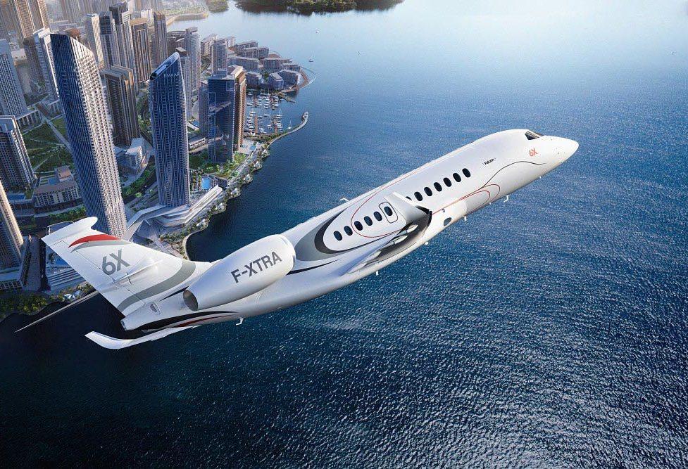 Dassault. Le Falcon 6X doit relancer les ventes