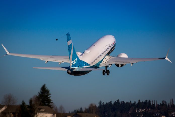 737 MAX7 Boeing