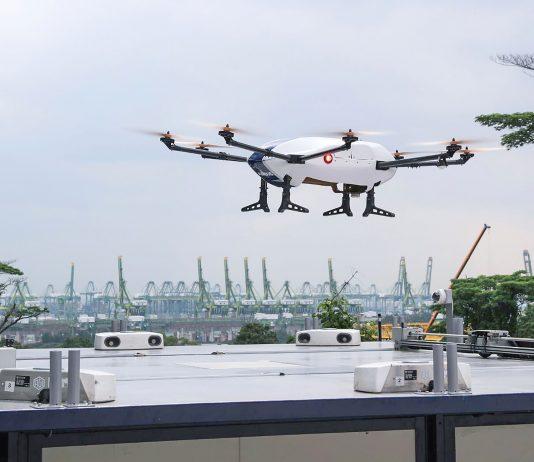 drone de transport urbain