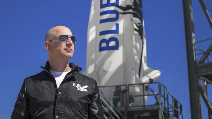 Jeff Bezos New Shepard