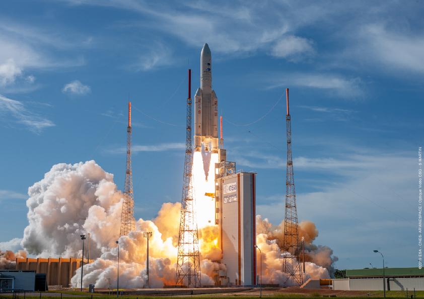 Calendrier Lancement Ariane 2019.Arianespace Se Prepare A Finir L Annee Sans Vega Aerospatium