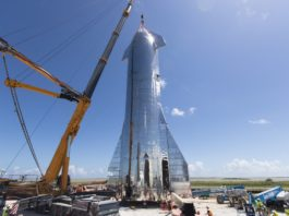 Starship Mk1 SpaceX