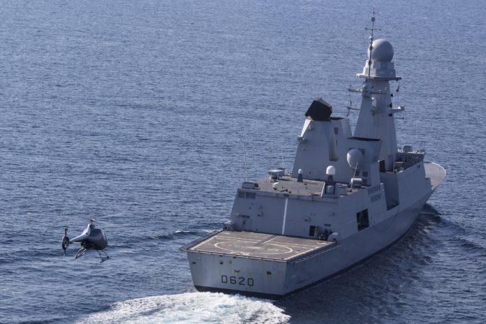VSR700 Drone Marine Forbin