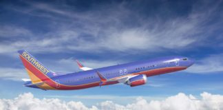 737 MAX 8 Southwest