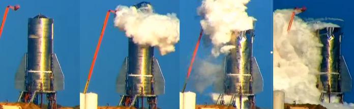 Starship Mk1 Explosion