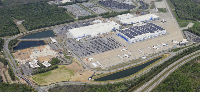 Boeing Charleston marché
