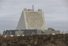 Fylingdales radar de surveillance