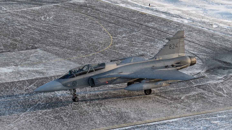 Gripen HX Challenge Finlande.