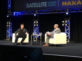 Elon Musk Satellite 2020