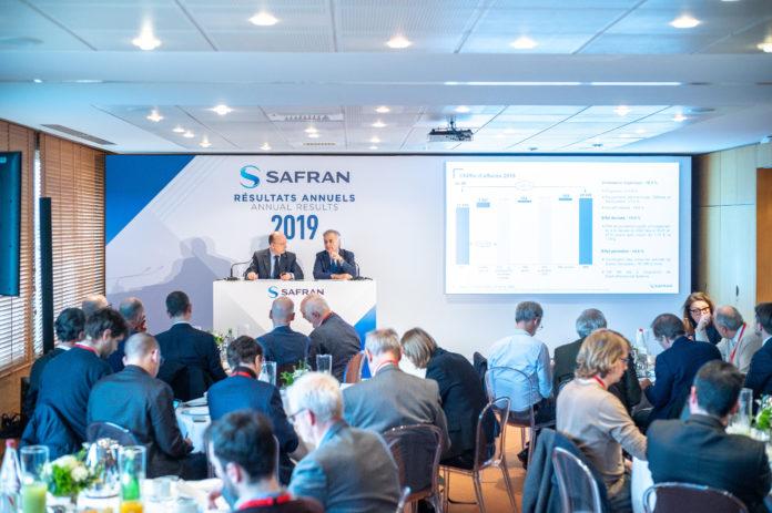 Résultats Safran année 2019