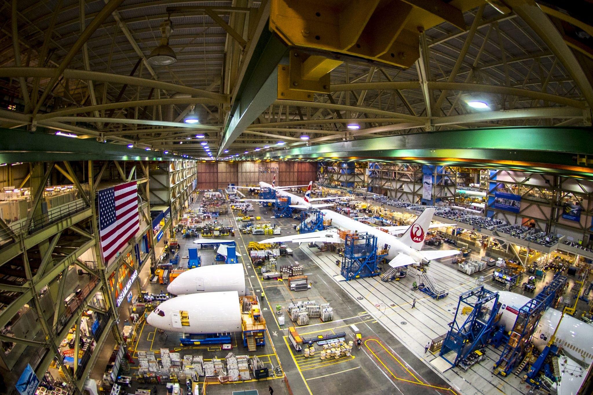 Boeing 787 Charleston