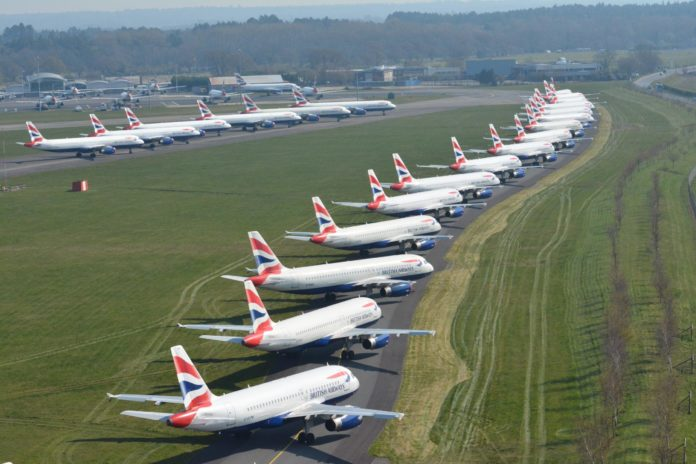 British Airways Crise Covid-19
