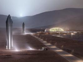 Mars Starship