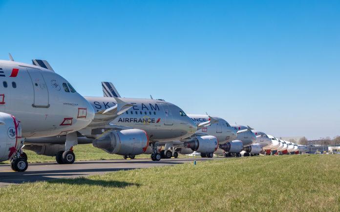Air France Covid