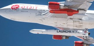 Virgin Orbit LauncherOneTest