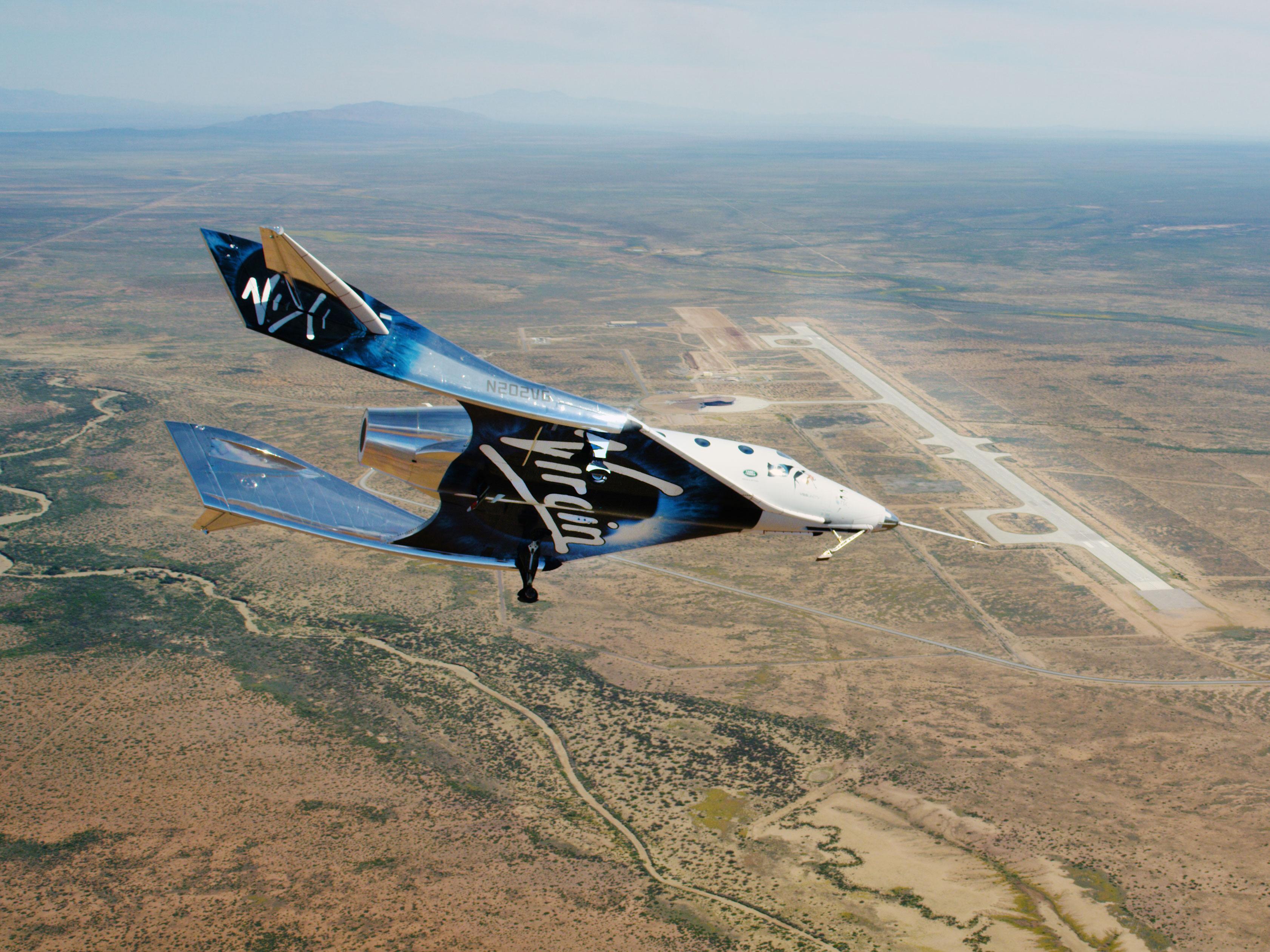 SpaceShipTwo Unity Virgin