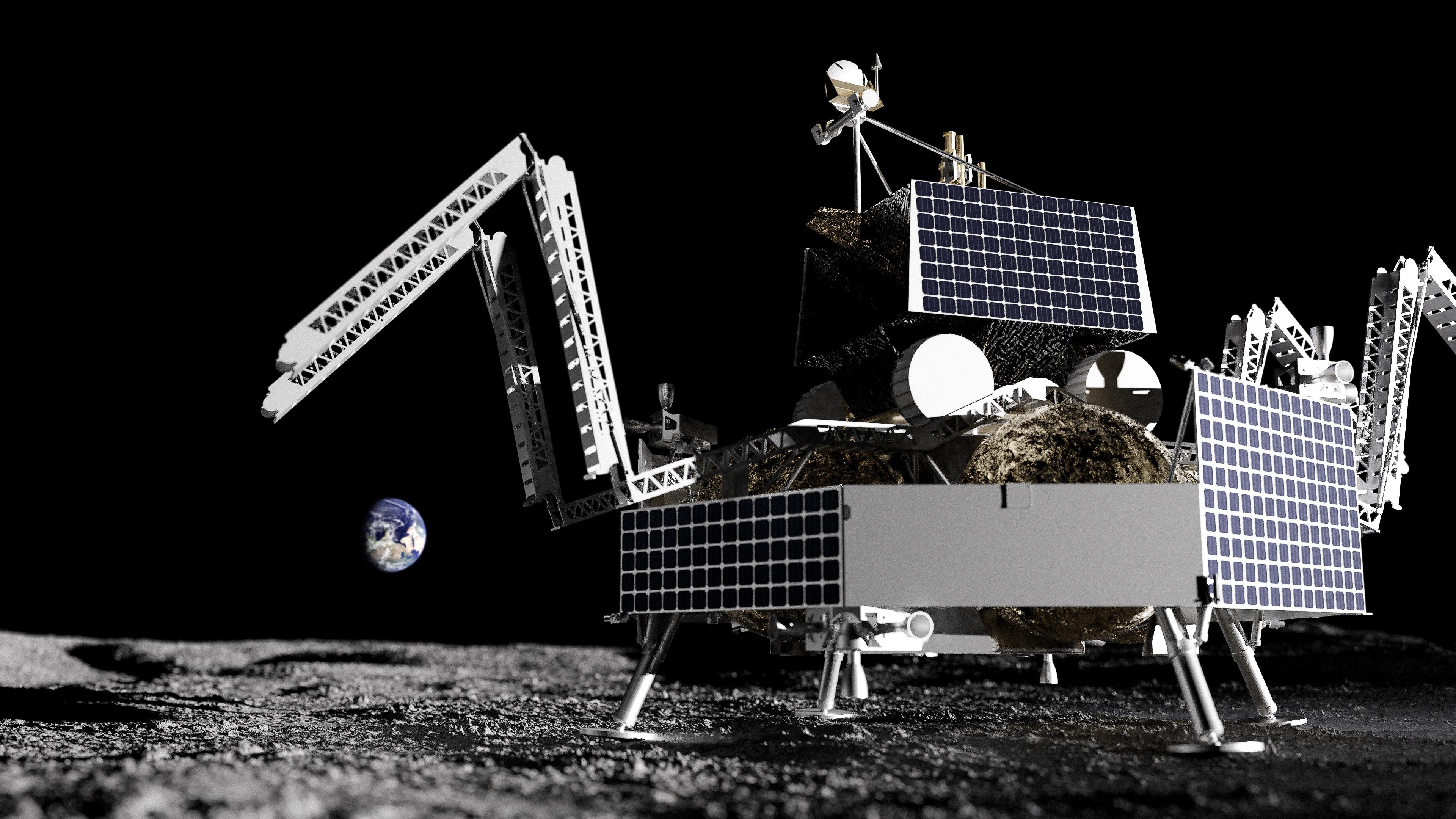 Griffin Astrobotic sur la Lune