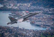 F/A-18C suisse