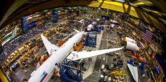 Boeing 787 Everett