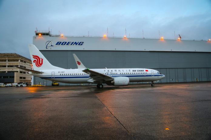 737 MAX Air China Boeing