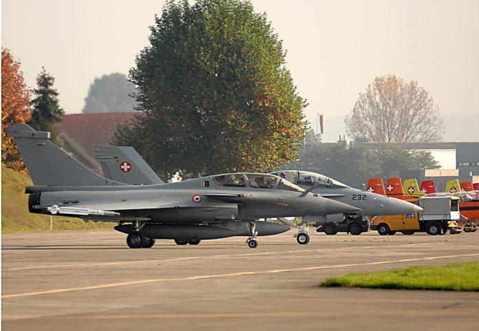 Suisse Rafale Hornet