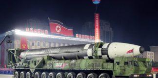 Corée du Nord Hwassong 16