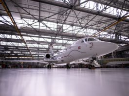 Falcon 6X Roll-out