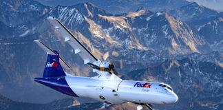ATR 72-600F Fedex