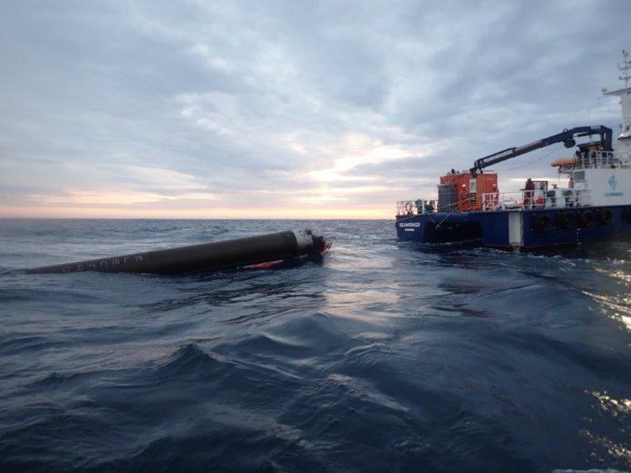Electron récupération en mer semi-réutilisable