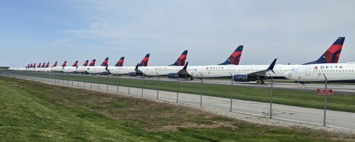 Delta Covid Aérien
