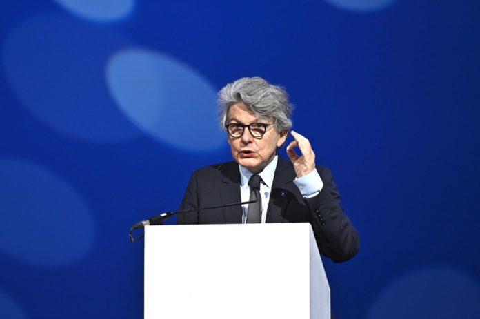 Commissaire européen Thierry Breton