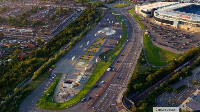 Coventry Urban Air Port vertiport urbain