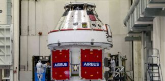 Orion ESM-1 Artemis modules