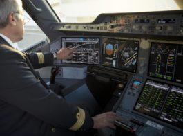 Ecran tactile Thales A350