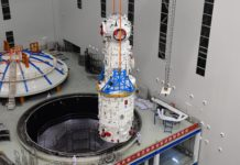 Tianhe module station spatiale