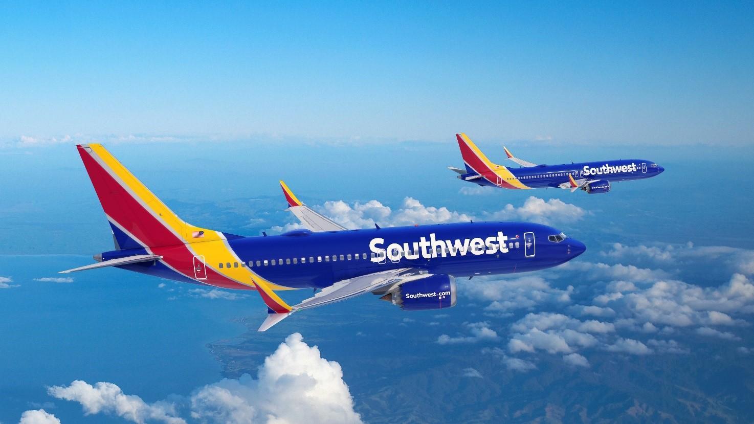 Livraisons 737 MAX Southwest