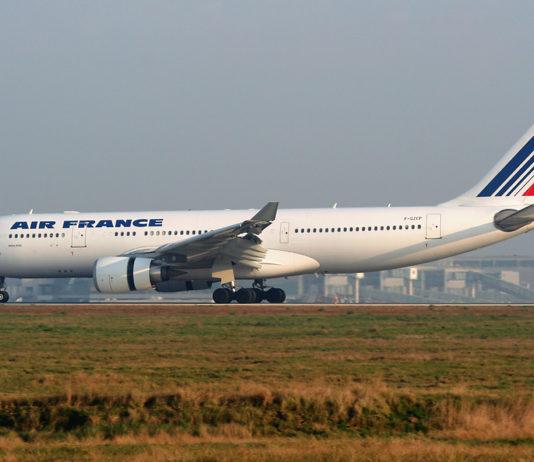 L'A330 Rio-Paris