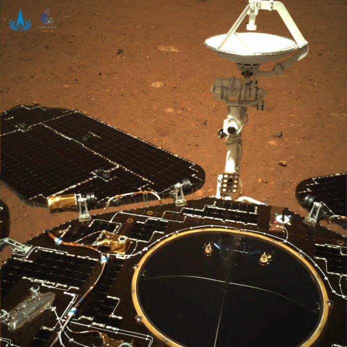 Zhurong Mars