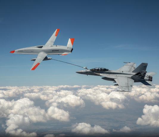 MQ-25 drone ravitaillement