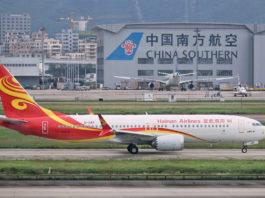 737 MAX Chine