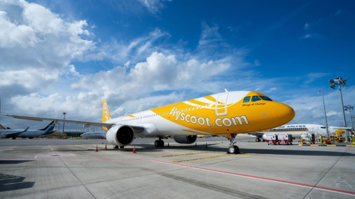 Scoot A321neo Airbus