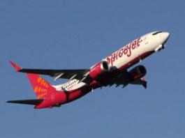 737 MAX8 SpiceJet Inde