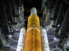 SLS d'Artemis 1