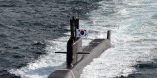 Sous-marin Corée du Sud